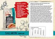 Natural Fresh Meat Puppy M-L SALMON