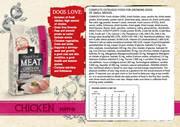 Natural Fresh Meat Puppy S CHICKEN