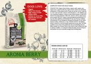 Natural Fresh CHICKEN-ARONIA BERRY Organic