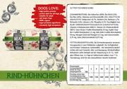 Natural Fresh Meat Bio Hund Wurst Rindfleisch-Hühnchen 600 gr verpackt pro 12 Stück