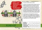 Natural Fresh Meat Biologische Worst Rundvlees-Kip 600 gr verpakt per 12 st